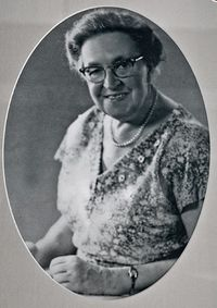 Corrie Ten Boom after the war